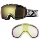 Dye Snow Goggle T1 DTS Streamboat / Bronze Fire + Ersatzglas Clear - Skibrille / Snowboardbrille