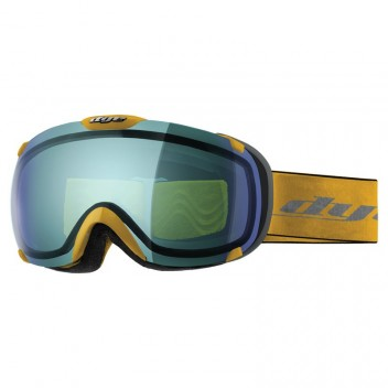 Dye Snow Goggle T1 DTS Yellow / Blue Flash - Skibrille / Snowboardbrille