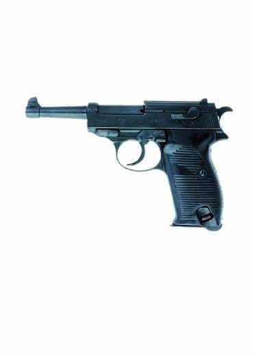 Deko pistole deutschland 1938 schwarz deko waffe for Deko deutschland